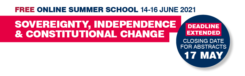 Free online summer school, Sovereignty, Independence and Constitutional Change