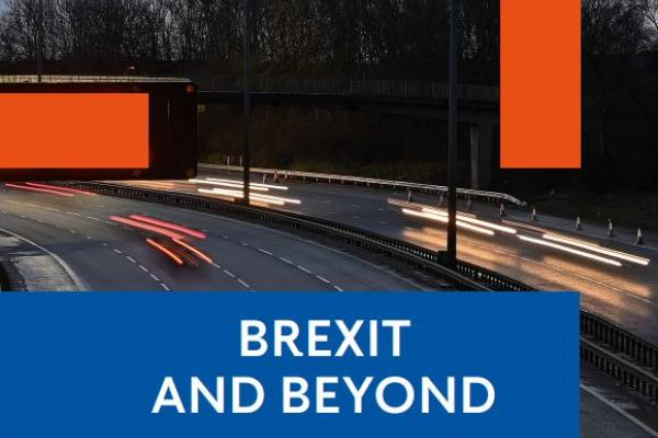 Image of front cover of Brexit and Beyond report