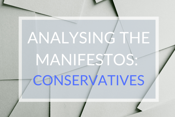 Analysing the Manifestos: Conservatives