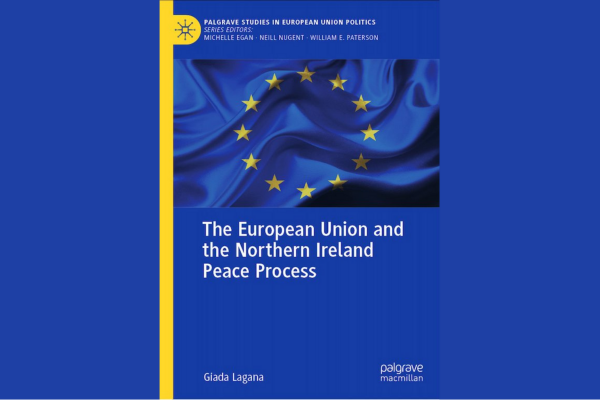 Image of the european union and the NI peace process book